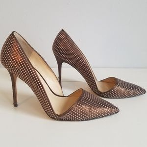 Vince Camuto studded pump